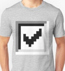 Big checkbox Slim Fit T-Shirt