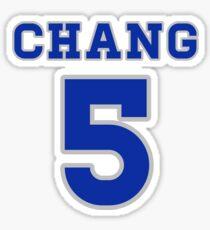 CHANG 5 Sticker
