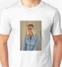 Smiling Blond Lady. T-Shirt