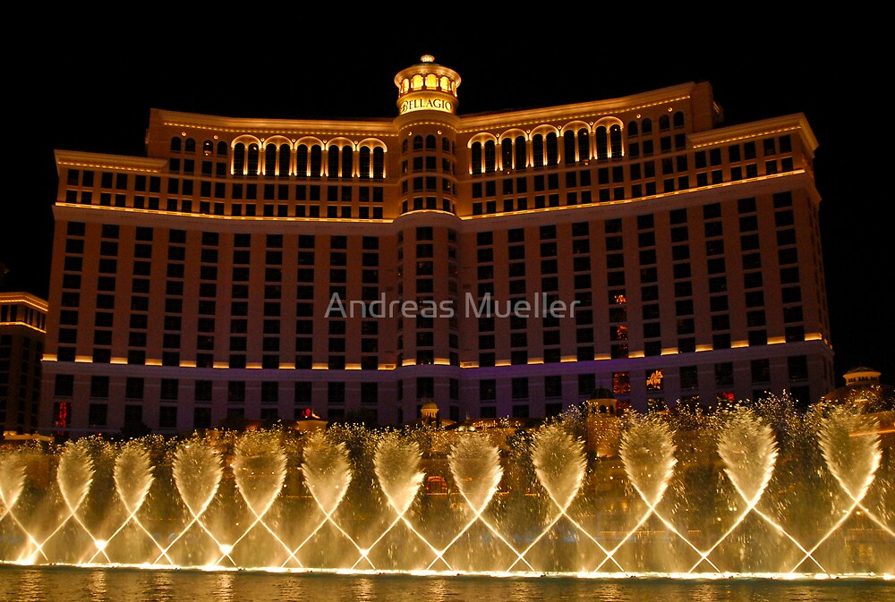 Fountains Of Bellagio by Andreas Mueller