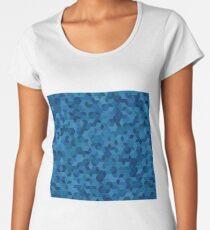 Mosaic Cube Design  Women's Premium T-Shirt