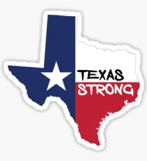 Houston Flood - Texas Strong Sticker
