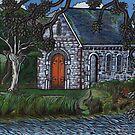St Finbarr's oratory Gougane Barra, Ireland by Ronan Crowley