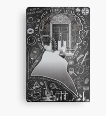What is it Like in Your Funny Little Brains? Metal Print