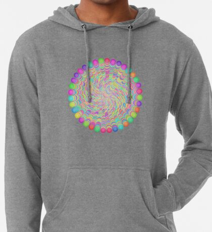 Random Color Generation Lightweight Hoodie