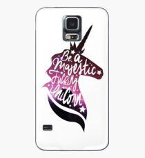 Funda/vinilo para Samsung Galaxy Be Like the Unicorn