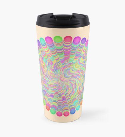 Random Color Generation Travel Mug