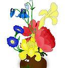 Floral Still Life 1674 by Ruth Moratz