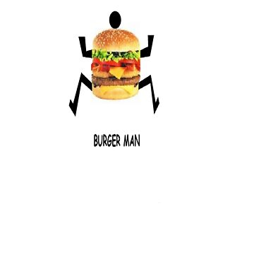 BURGER MAN by ness24