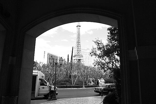 Las Vegas - Paris by Will Edwards