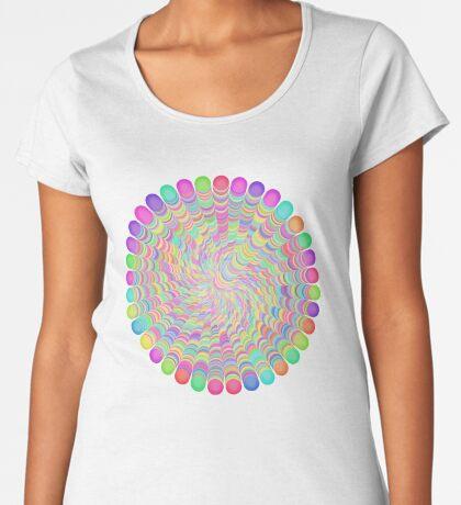 Random Color Generation Premium Scoop T-Shirt