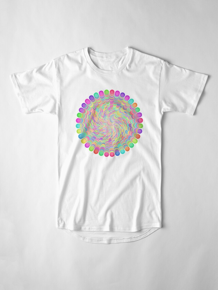 Alternate view of Random Color Generation Long T-Shirt