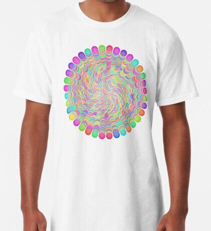 Random Color Generation Long T-Shirt