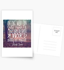 More Than One Way to Spell a Word Postcards