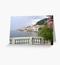 Lake Como Greeting Card