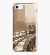 Snowy Day In Bronx  iPhone Case/Skin
