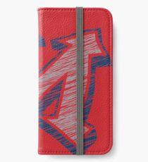 Miller M (Grey & Navy) iPhone Wallet/Case/Skin