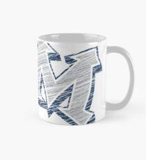Miller M (Grey & Navy) Mug