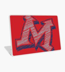 Miller M (Grey & Navy) Laptop Skin