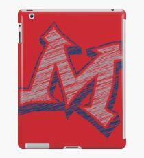Miller M (Grey & Navy) iPad Case/Skin
