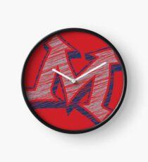 Miller M (Grey & Navy) Clock
