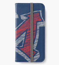 Miller M (Red & Grey) iPhone Wallet/Case/Skin
