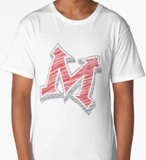 Miller M (Red & Grey) Long T-Shirt