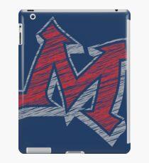 Miller M (Red & Grey) iPad Case/Skin