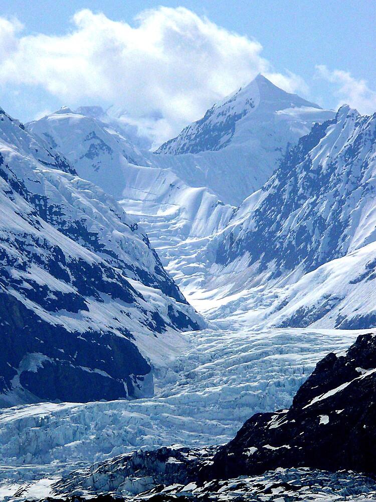 Close up of a Glacier #1 by Liz Wear