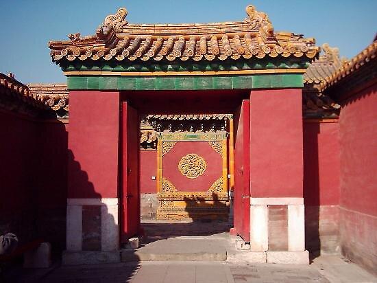 Forbidden city, China by chord0