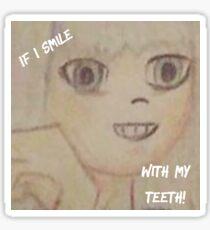 If I Smile // Paramore Sticker