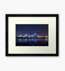 Queensferry Blue Framed Print