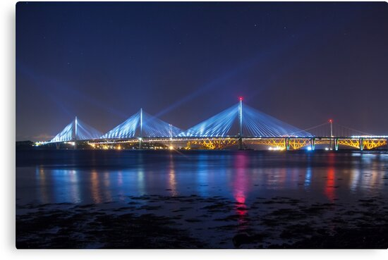 Queensferry Blue by Cat Perkinton