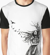 Becoming One with Nature Graphic T-Shirt