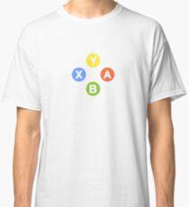 X Box Controller Symbol - Nerd Geek Video Games Play Station Xbox PC Gamer Classic T-Shirt