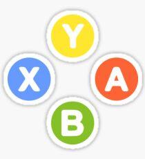 X Box Controller Symbol - Nerd Geek Video Games Play Station Xbox PC Gamer Sticker