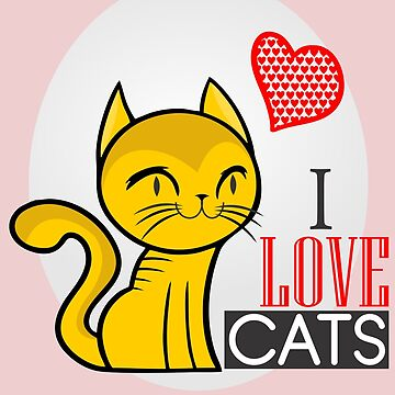 I LOVE CATS by criarte