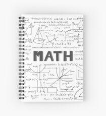 Math Spiral Notebook