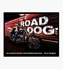 The Road Dog Photographic Print