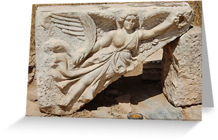 Nike - Godess of Victory by Pat Herlihy