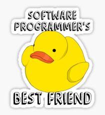 Programmer's duck Sticker
