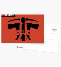 Rust Weapons Postcards