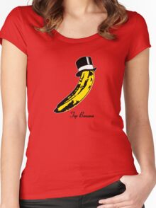 Top Banana Women's Fitted Scoop T-Shirt