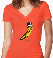 Top Banana Women's Fitted V-Neck T-Shirt