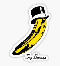Top Banana Sticker