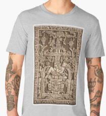 Ancient Astronaut, Pakal, Maya, sarcophagus lid, Men's Premium T-Shirt