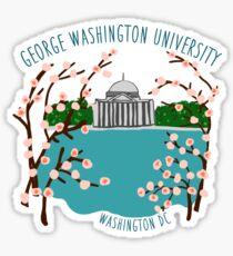 GW Cherry Blossoms Sticker