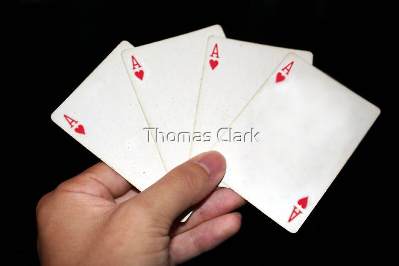 Hearts or Aces by Thomas Clark