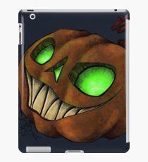 Spooky Halloween Jack-O-Lantern iPad Case/Skin