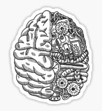Engineer Brain Sticker